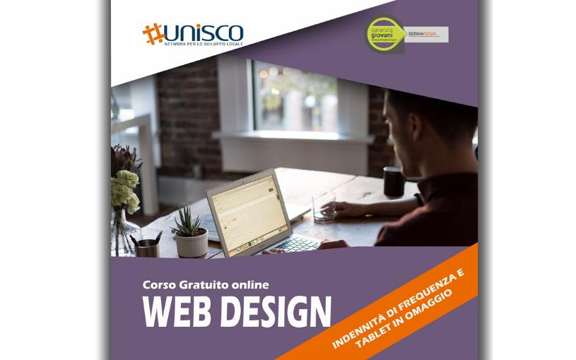 """Corso gratuito """"WEB DESIGN"""""""