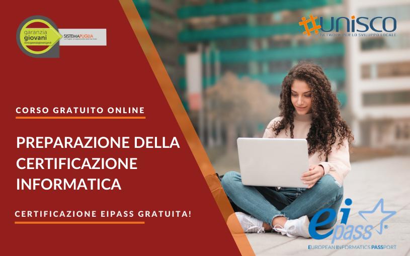 Corso gratuito per la preparazione della Certificazione Informatica