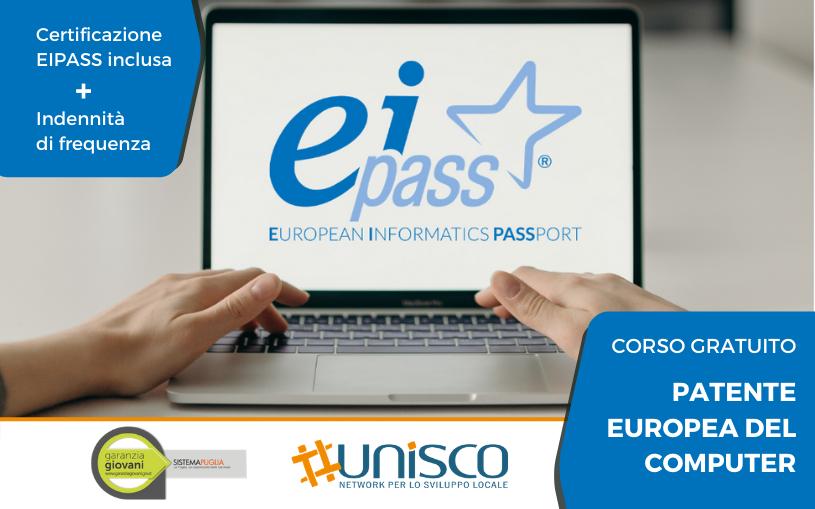 """Corso gratuito in sede """"Patente Europea del Computer"""""""